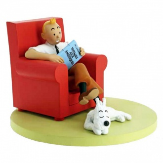 figurine-moulinsart-tintin-coll-icones-tintin-et-milou-at-home-fauteuil